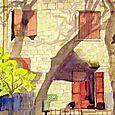 Shadows Provence Wall