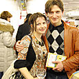 Oxana and Alex, another cute couple Anglo-Russe.