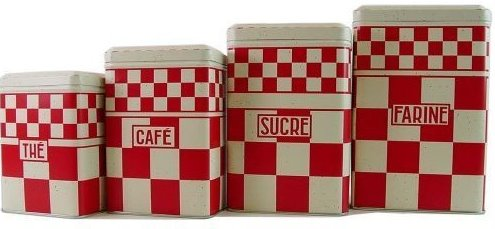 Tin canisters