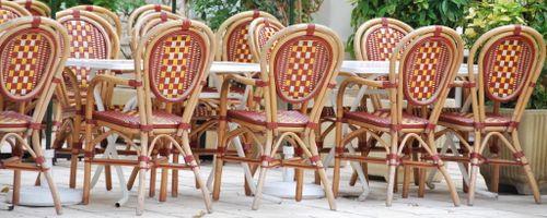 Parisian Bistro Chairs (c) Kristin Espinasse