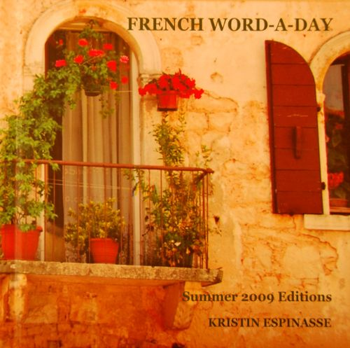 French Word-A-Day book