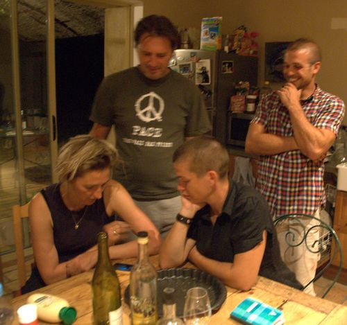 Jackie, Jean-Marc, Aurelie, and Daniel (c) Kristin Espinasse