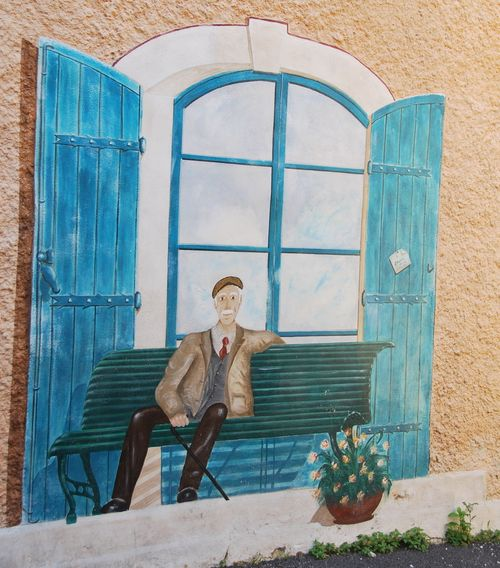 trompe l oeil wall painting france