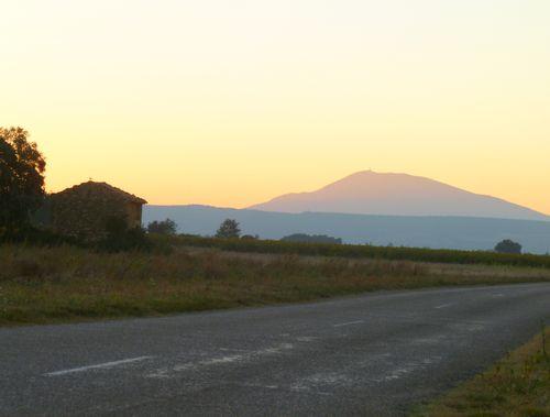 Cabanon and Mont Ventoux (c) Kristin Espinasse