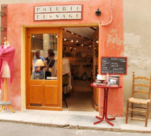 Vanessa's shop (c) Kristin Espinasse