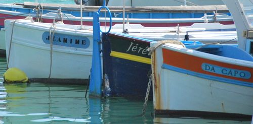"""Old French """"pointu"""" boats (c) Kristin Espinasse"""