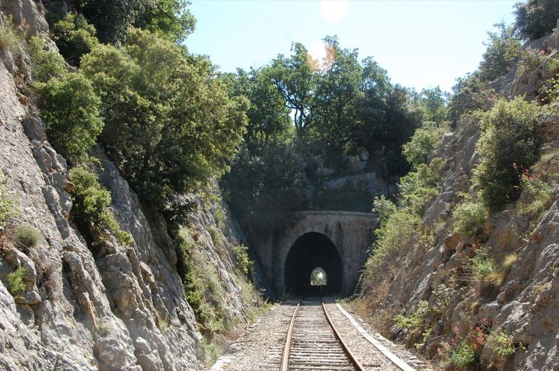 Approaching tunnel
