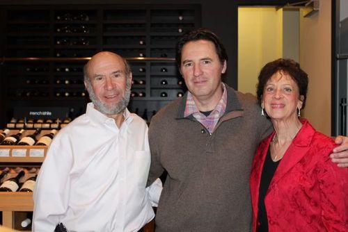Alex Polner Jean-Marc Espinasse Joanne Polner N.J. at Vestry Wines NYC