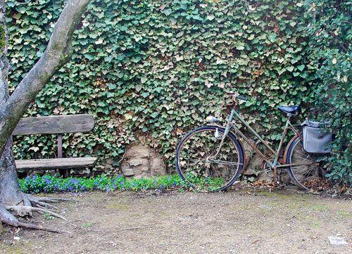 Bike in Puymeras (c) Kristin Espinasse