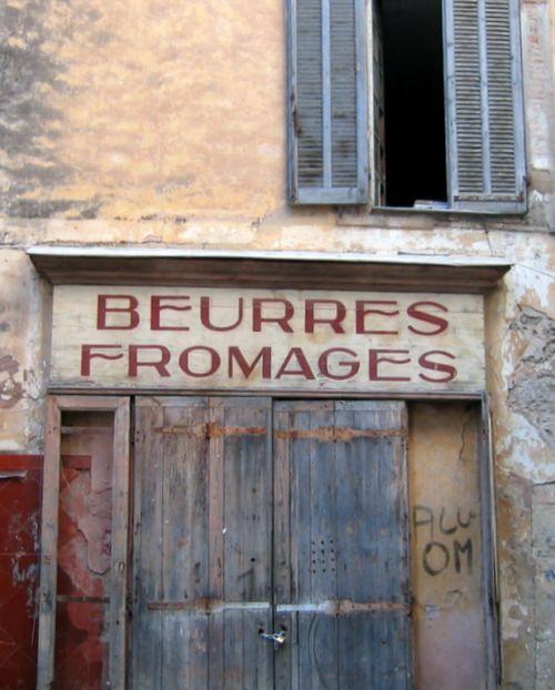 Antique shop front in Salernes (c) Kristin Espinasse