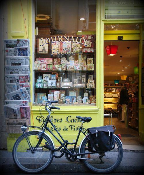bicyclette (c) Kristin Espinasse