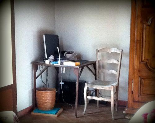 "My desk ""before"""