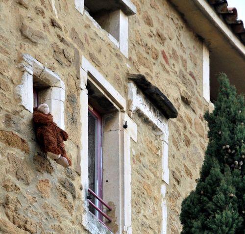 Teddy bear or nounours or doudou in France (c) Kristin Espinasse
