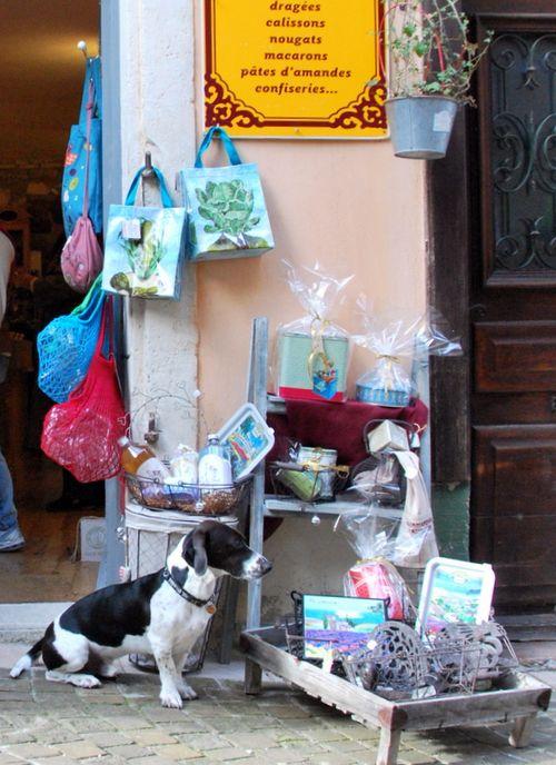 Grignan Gift Shop (c) Kristin Espinasse