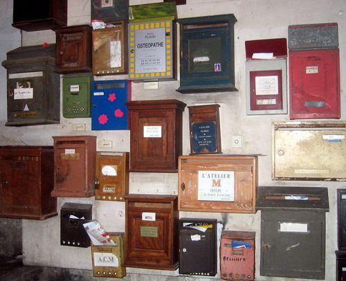 Mailboxes (c) Kristin Espinasse