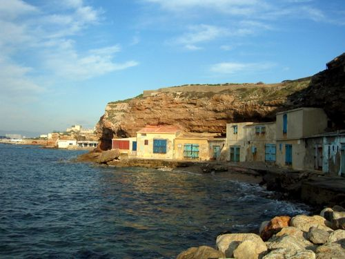 """Cabanes de Pêche"" or Fishermen's cottages in Marseilles (c) Kristin Espinasse"