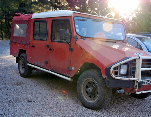 UMM or 4X4 manufactured in Portugal (c) Kristin Espinasse
