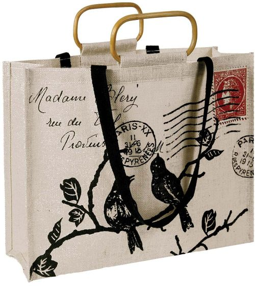 Stamp tote French envelope