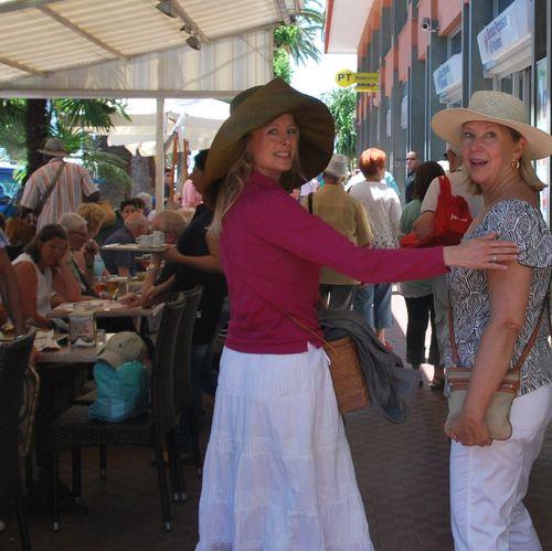 Kristi and Marsha