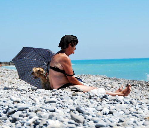 Italian woman (c) Kristin Espinasse