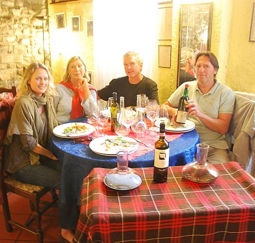 Lunch at Il Ponte in Badalucco Italy - Kristin Espinasse