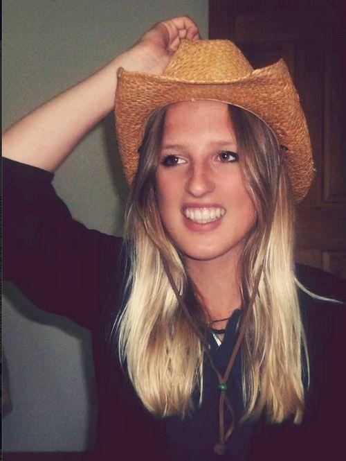"Jackie ""First Cowboy Hat"" (c) Kristin Espinasse"