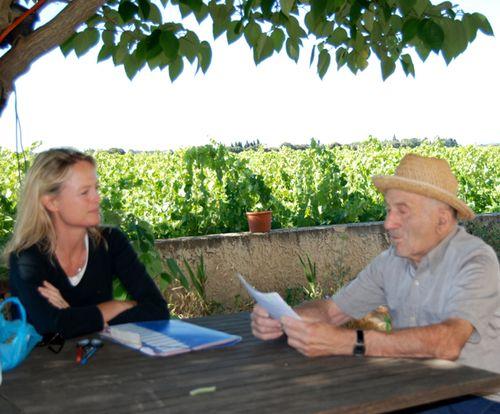 Kristi and Mr Farjon (c) Jean-Marc Espinasse