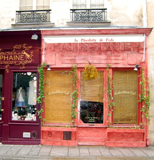 La Charlotte de L'isle - patisserie in Paris (c) Kristin Espinasse