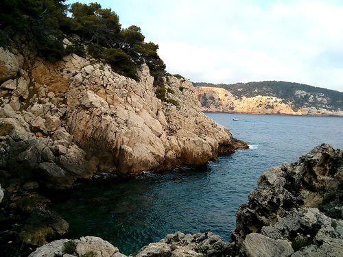 "A ""crique"" or little sea inlet along the littoral, or Mediterranean coast."