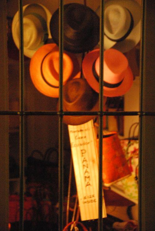 Hats in St. Tropez (c) Kristin Espinasse