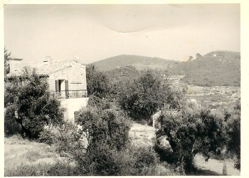 stone mas, house, France, olive farm www.french-word-a-day (c) Kristin Espinasse
