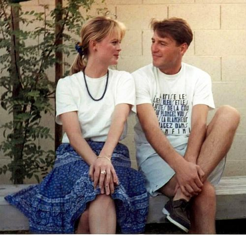 Jean-Marc and Kristi in 1992