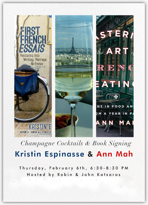 Book signing Ann Mah and Kristin Espinasse