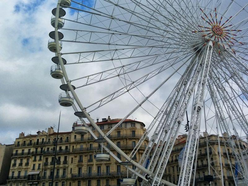 Ferris wheel in marseilles