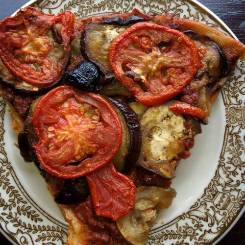 Eggplant-tart