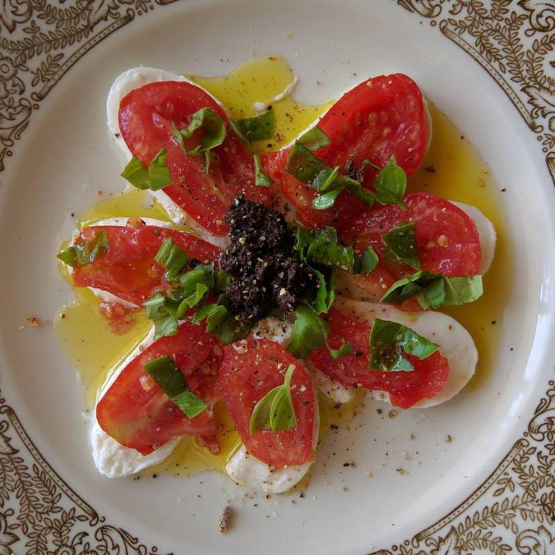 Caprese-salade