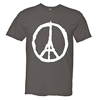 Paris-peace t-shirt