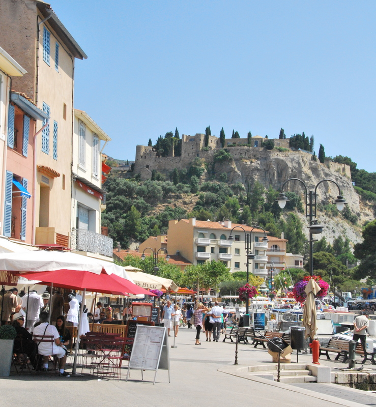 The charming port in Cassis France