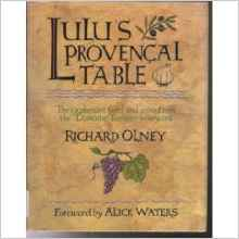 Lulu provencal table domaine tempier vineyard recipes from france