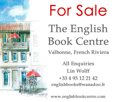 English Book Centre Valbonne for sale Riviera