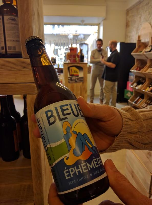 Biere bleu