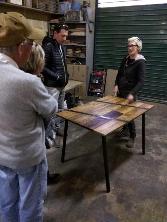 Cecile jean-marc martha charles atelier fer bois marseilles