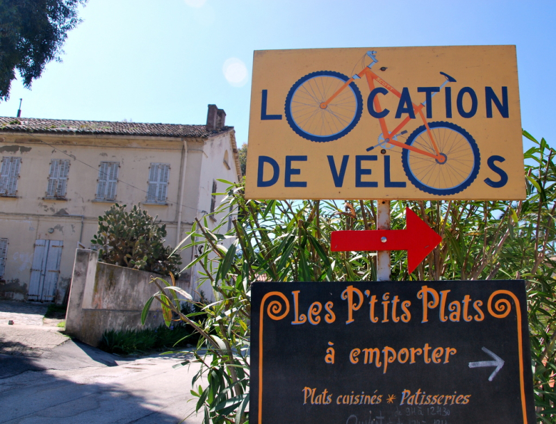 Location de velos on Porquerolles