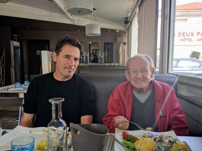 Jean-Marc and Lou in La Ciotat