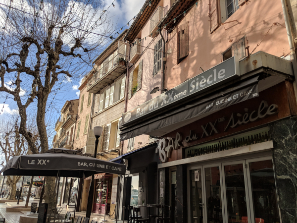 Bar du XX eme siecle Cassis France tapas menu cuisine wine vin