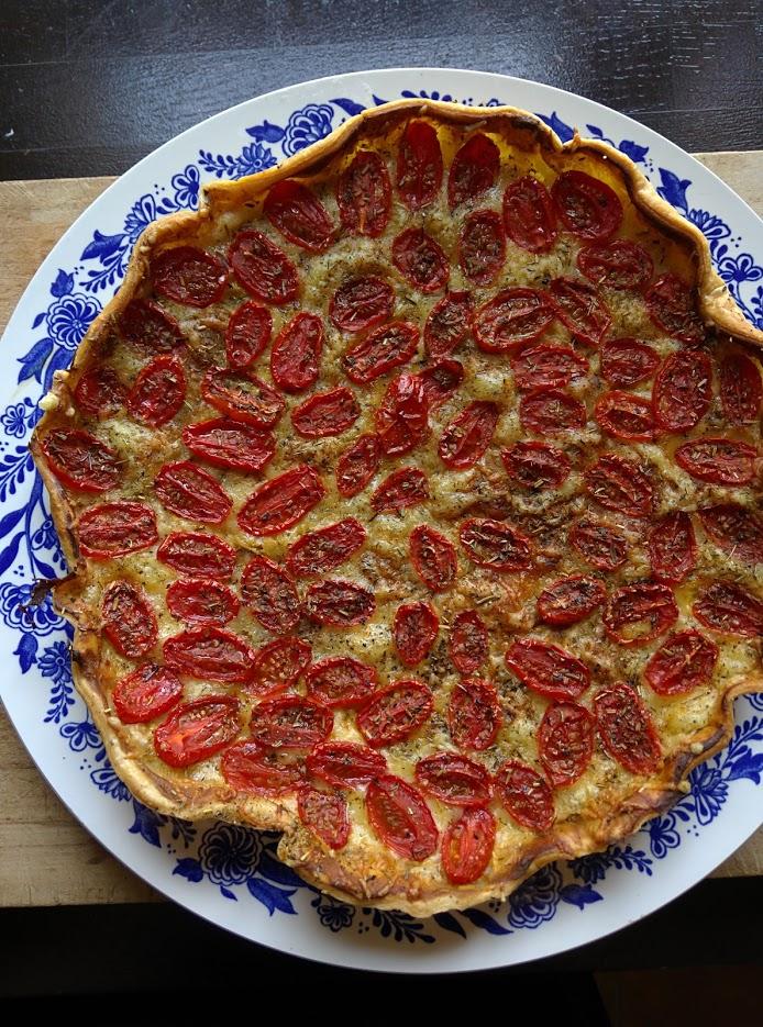 Cherry-tomato-tart