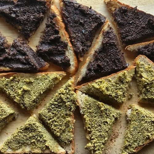 Tapenade-on-toast