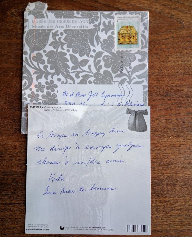 Mystery-letter