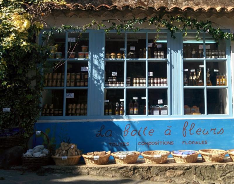La Boite a Fleurs shop in Ramatuelles France