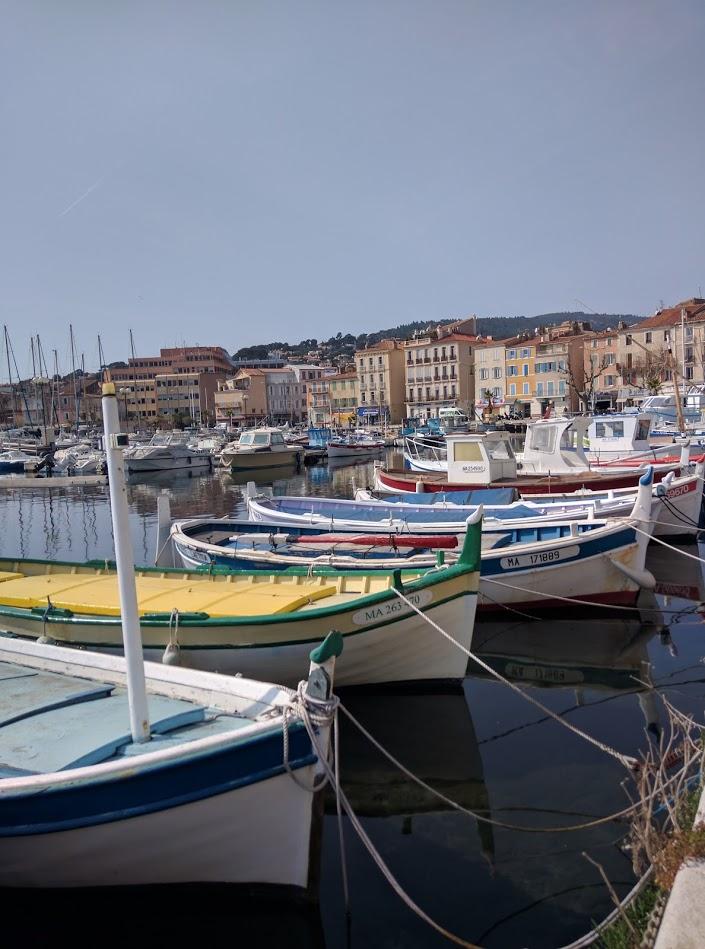 Port of la ciotat